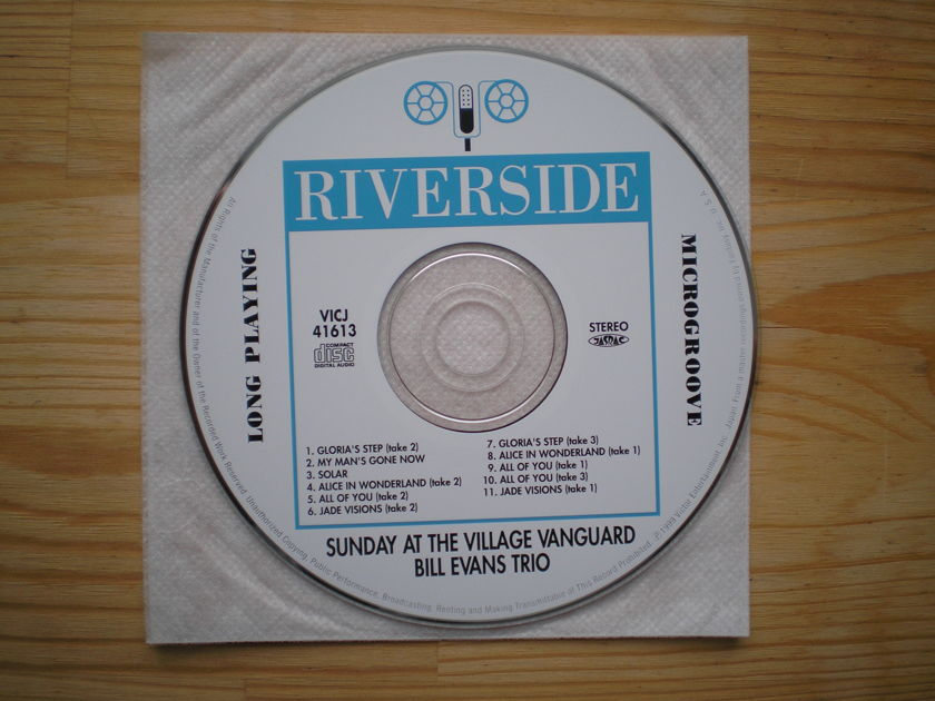 Bill Evans - Sunday at the Village Vanguard Japan mini-lp