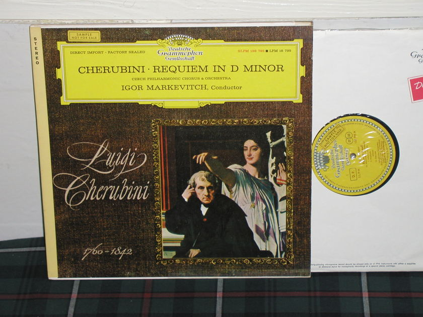 Markevitch/CPC&O - Cherubini Requiem DGG TULIP label (red)