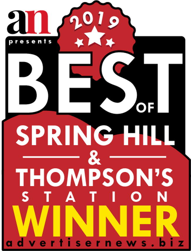 Best childcare in Spring Hill winner, best childcare in Thompson's Station winner, the Advertiser News, Best Preschool