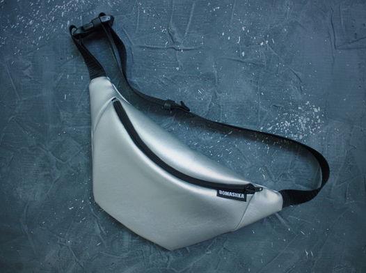 Поясная сумка Серебро