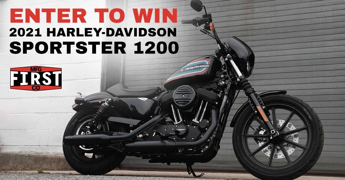 2021 Harley-Davidson Sportster 1200 Giveaway