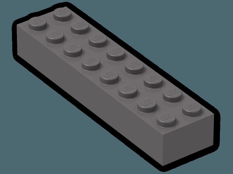 lego 199—Dark Stone Grey