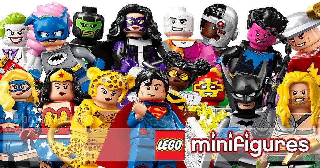 lego dc minifigures