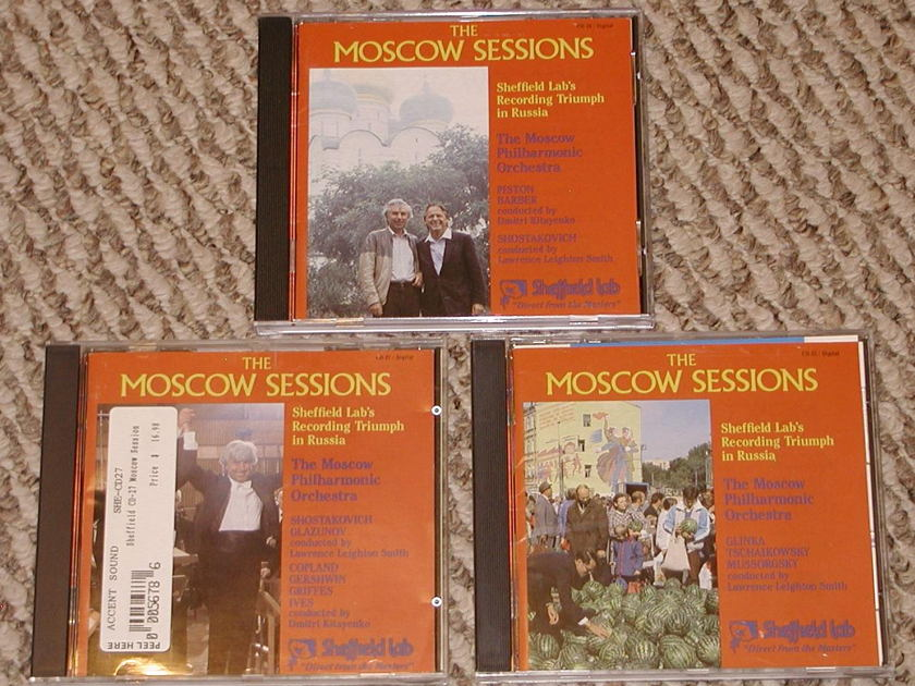 3 Sheffield Lab CD - The Moscow Sessions