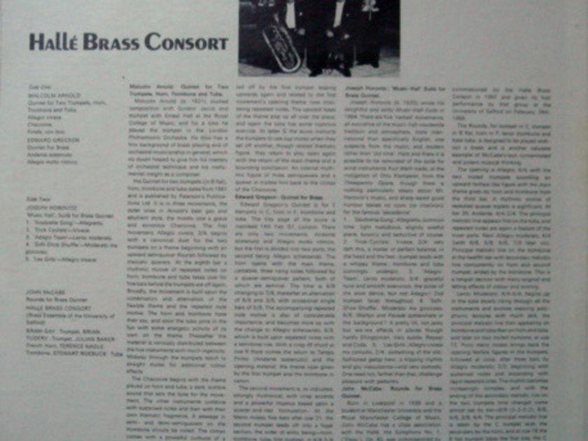 ★Sealed★ Pye Records / - HALLE BRASS CONSORT, Arnold-Gergson-Horovitz Brass Music!
