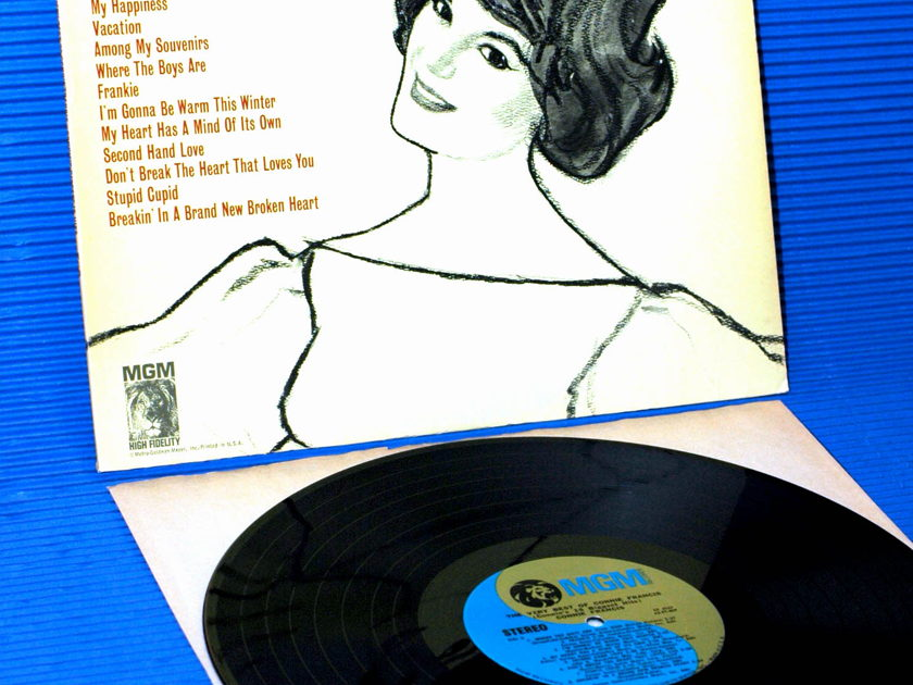 "CONNIE FRANCIS  - ""The very best of Connie Francis"" - MGM 1968"