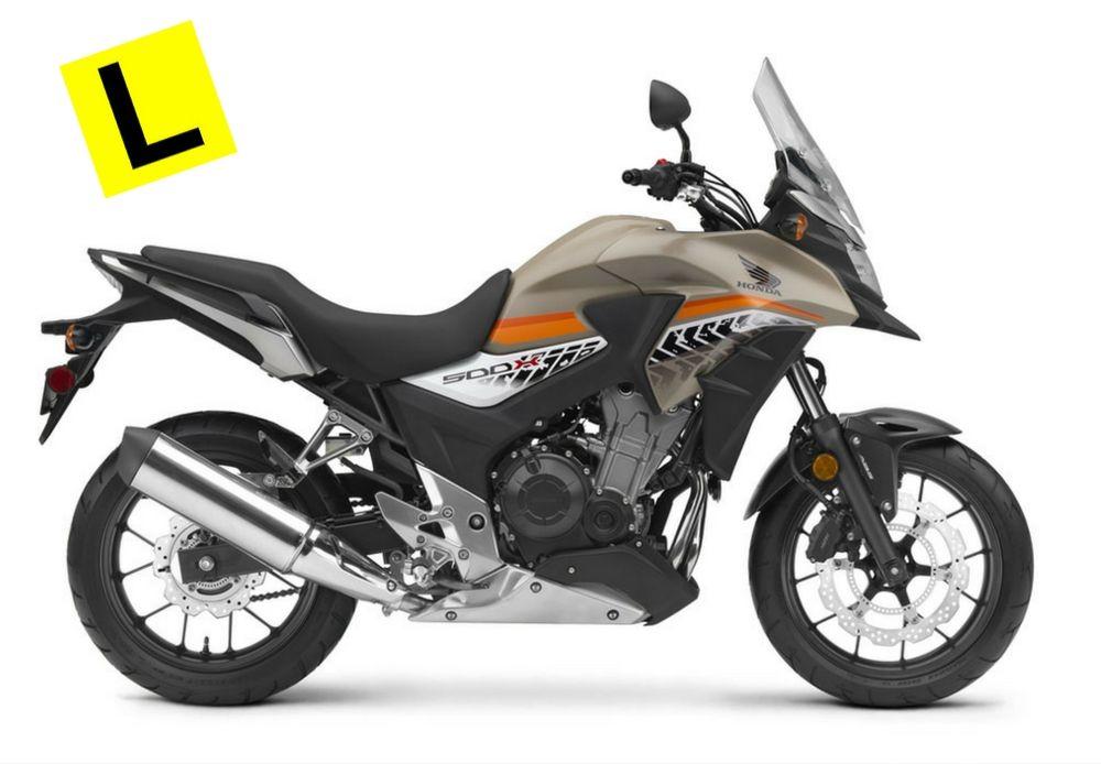 2017HONDA MOTORCYCLES CB500X
