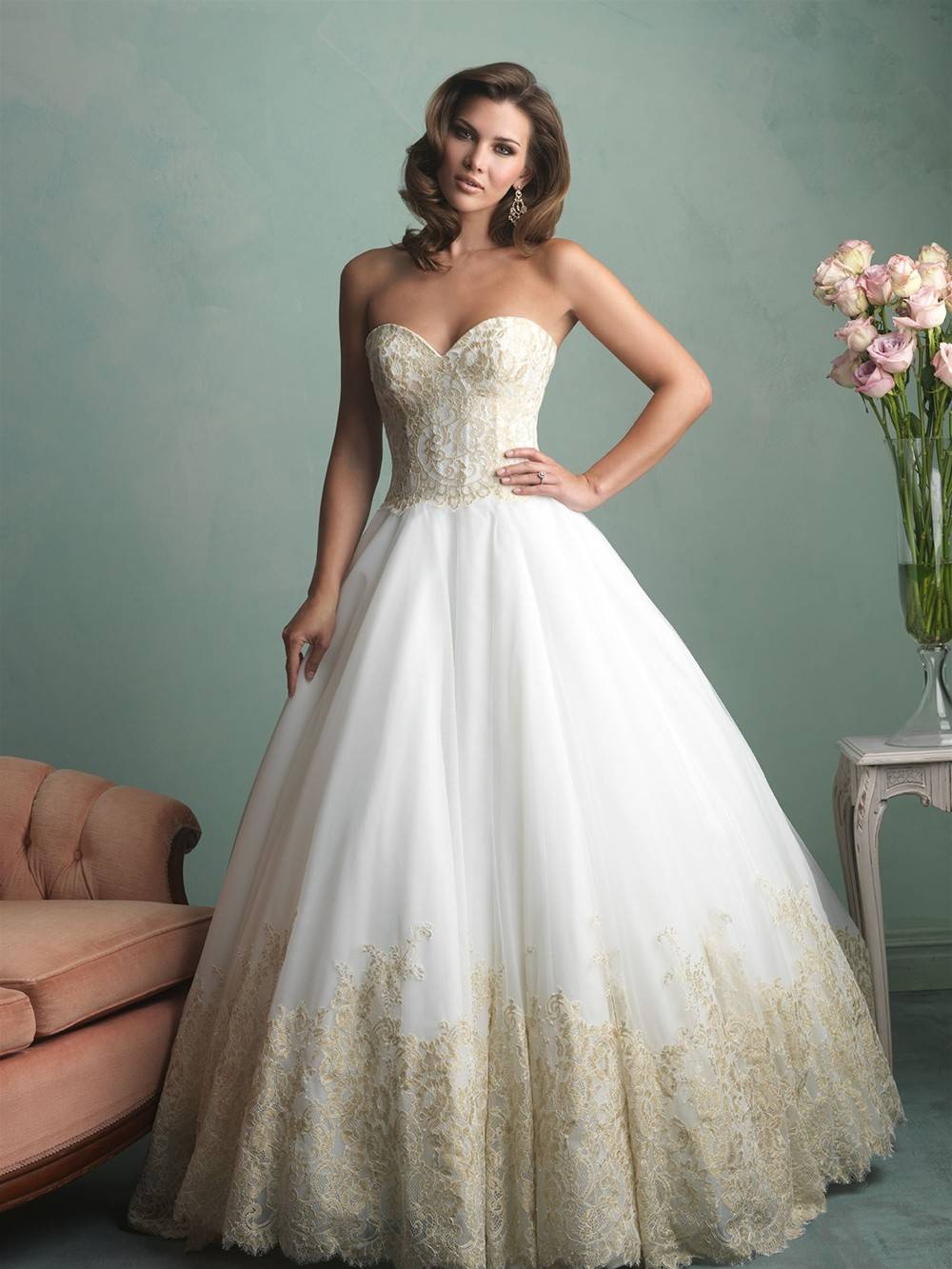 ALLURE  WEDDING DRESS 9171