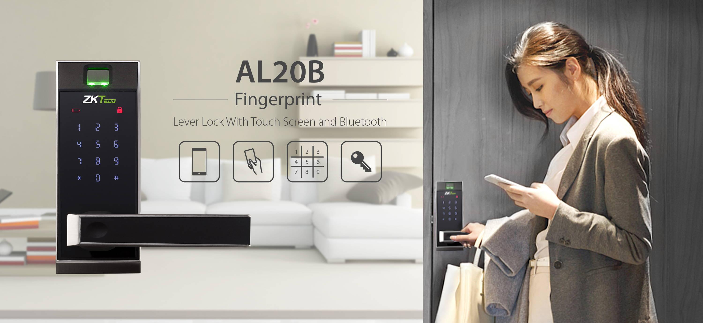 al20b fingerprint smart lock