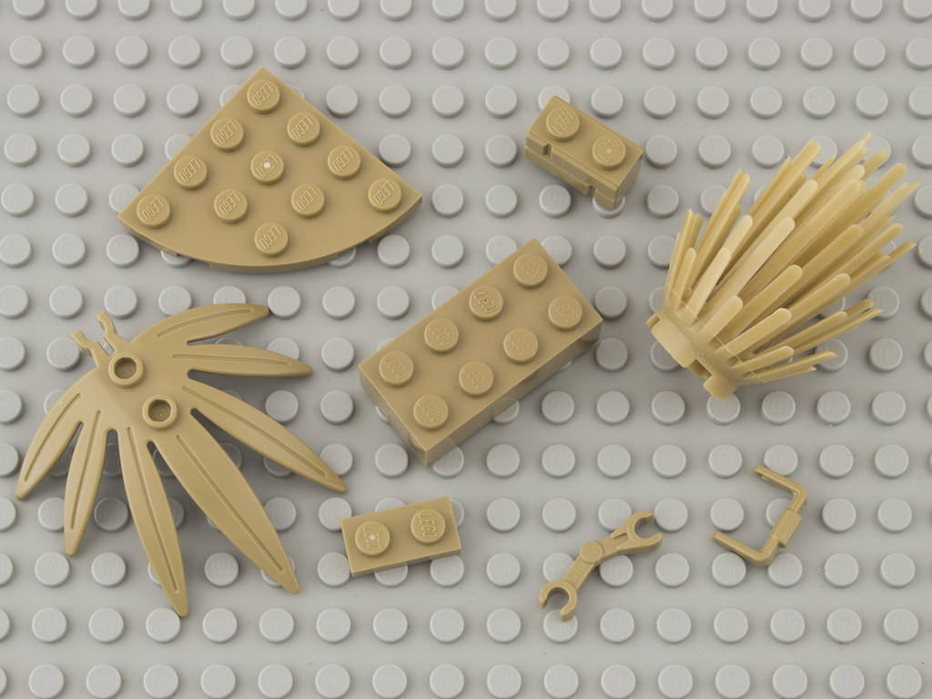 lego sand yellow color