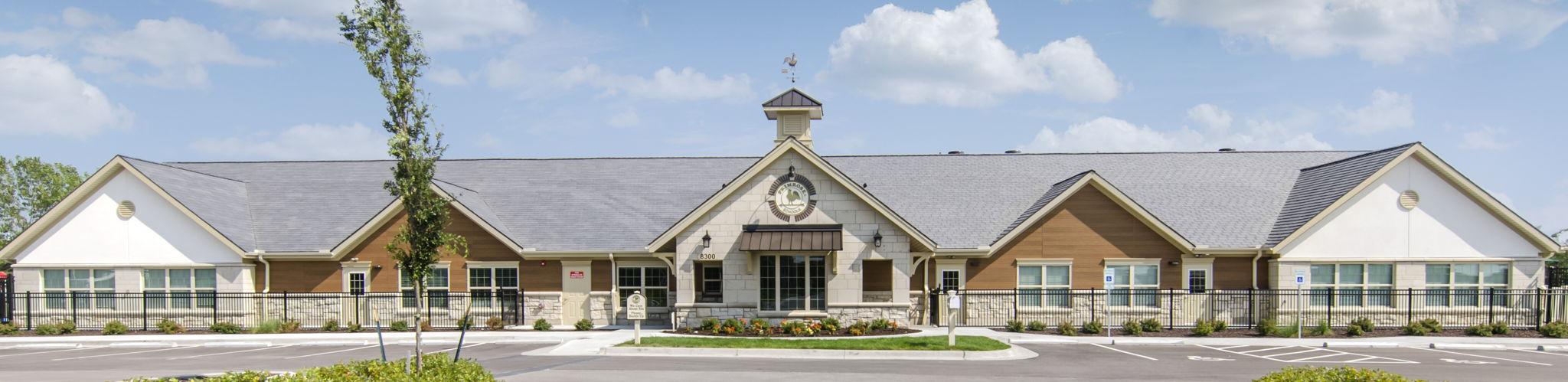Exterior of Primrose School of Blue Valley