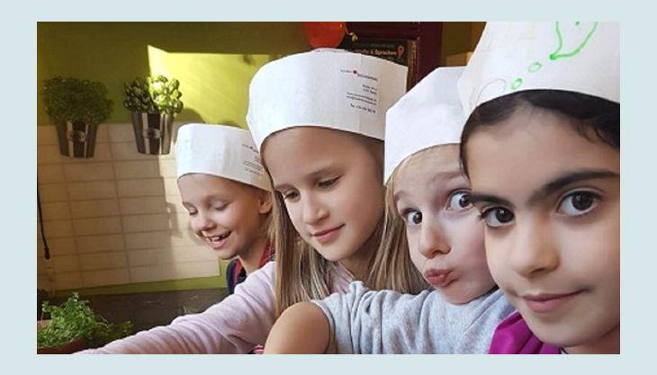 kinder kochschule sterne party