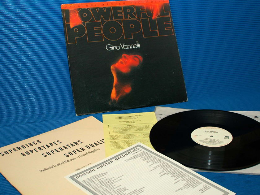 "GINO VANNELLI  - ""Powerful People"" -  Mobile Fidelity / MFSL 1980"