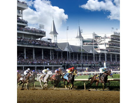 Saturday at Churchill Downs for 8!