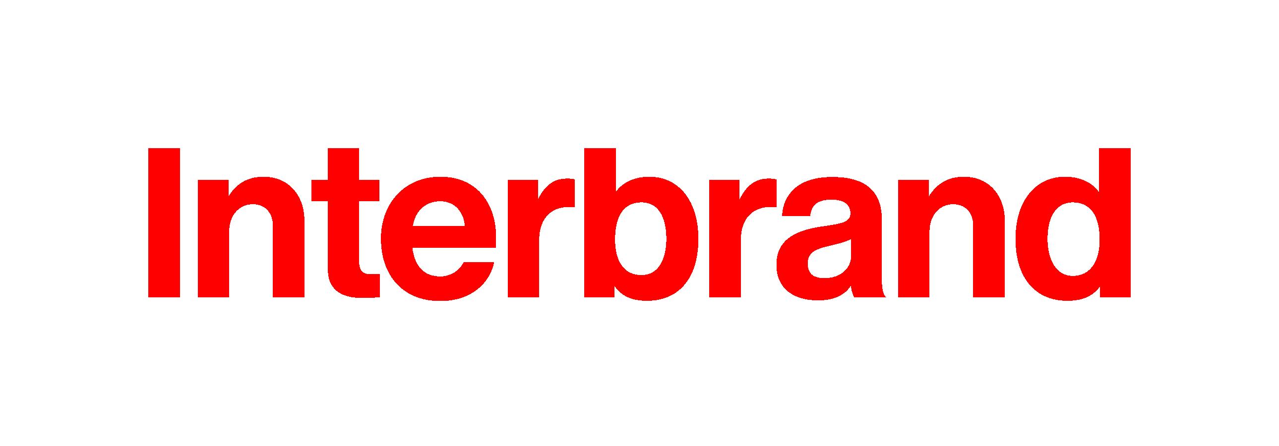 Interbrand logo red 1