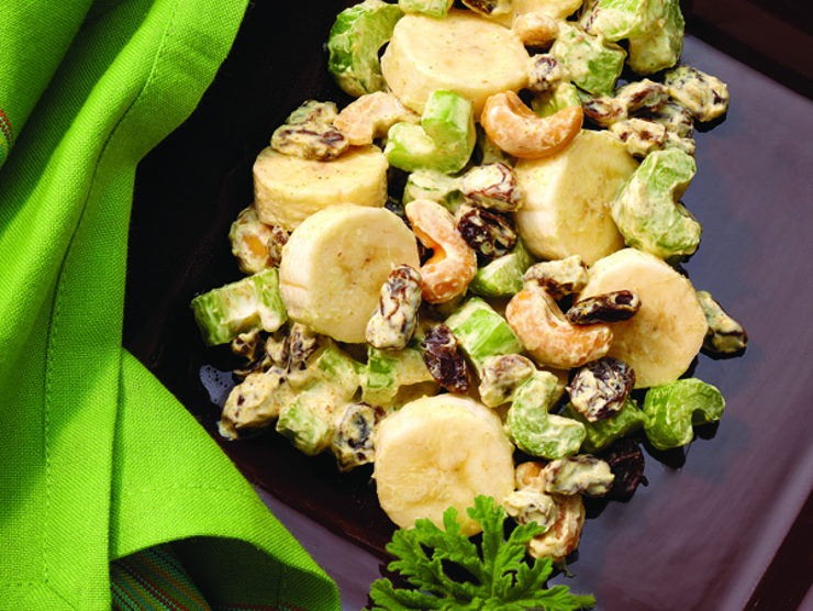 Curried Banana Salad Image