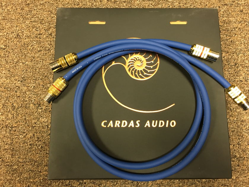 Cardas Audio Clear Rev.1,     1mt Balanced ** Price Reduced **