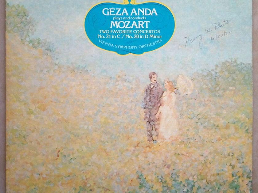 RCA   ANDA/MOZART - Piano Concertos Nos. 20 & 21 / EX