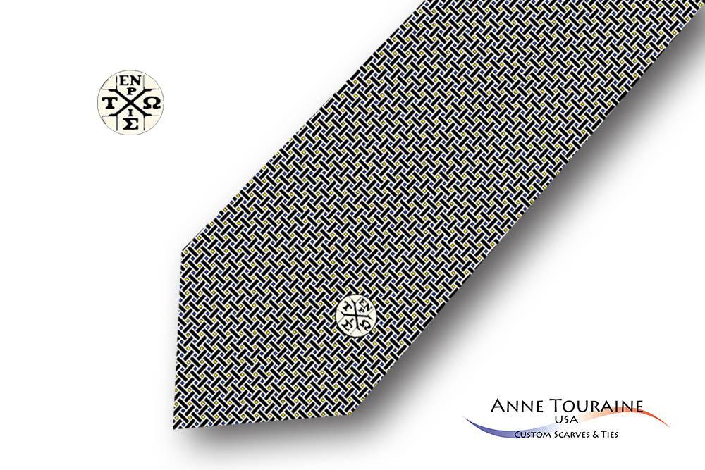 Geometric-patterned-custom-ties-design-style-black