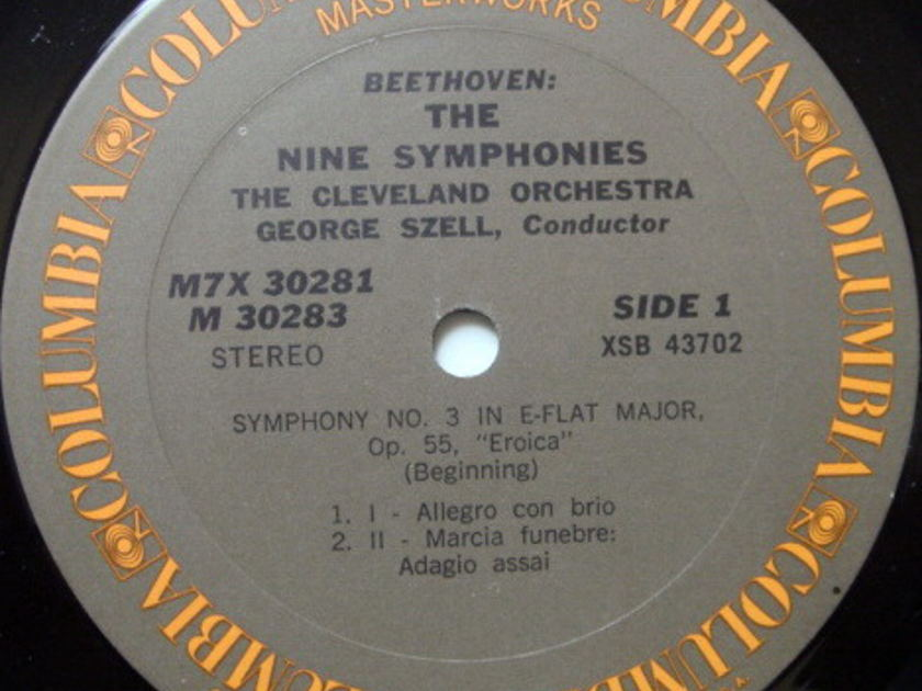 Columbia / GEORGE SZELL,  - Beethoven The Nine Symphonies, NM, 7LP Box Set!