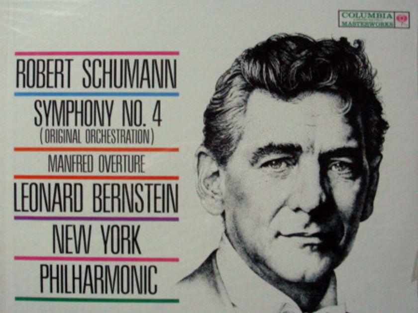 ★Sealed★ Columbia / BERNSTEIN, - Schumann Symphony No.54, Manfred Overture!