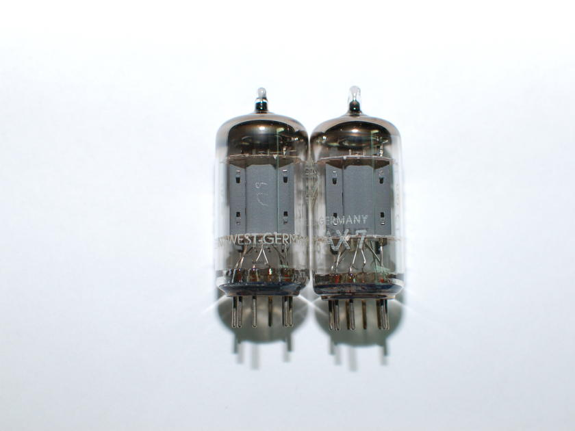 Telefunken ECC83 12AX7 NOS Smooth plate matched pair