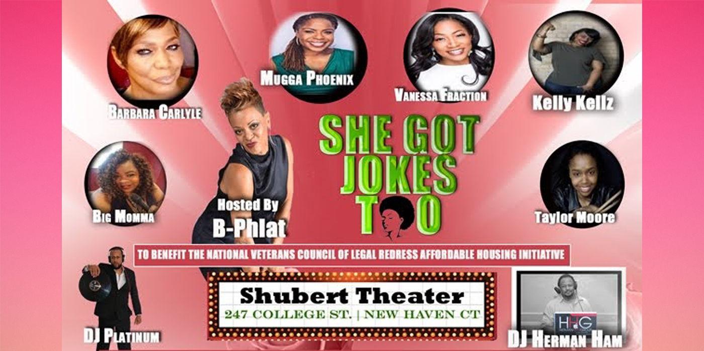 She Got Jokes Too at the Shubert Theatre