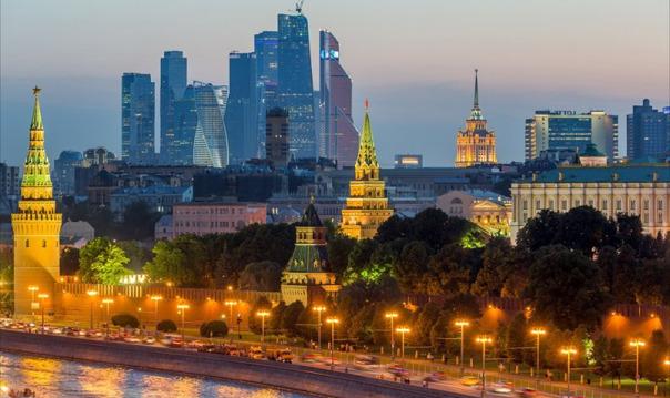 Экскурсия по вечерней Москве (ежедневно в 19:00)