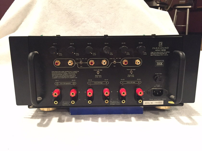 Parasound HCA-1206 6 Channel Amplifier