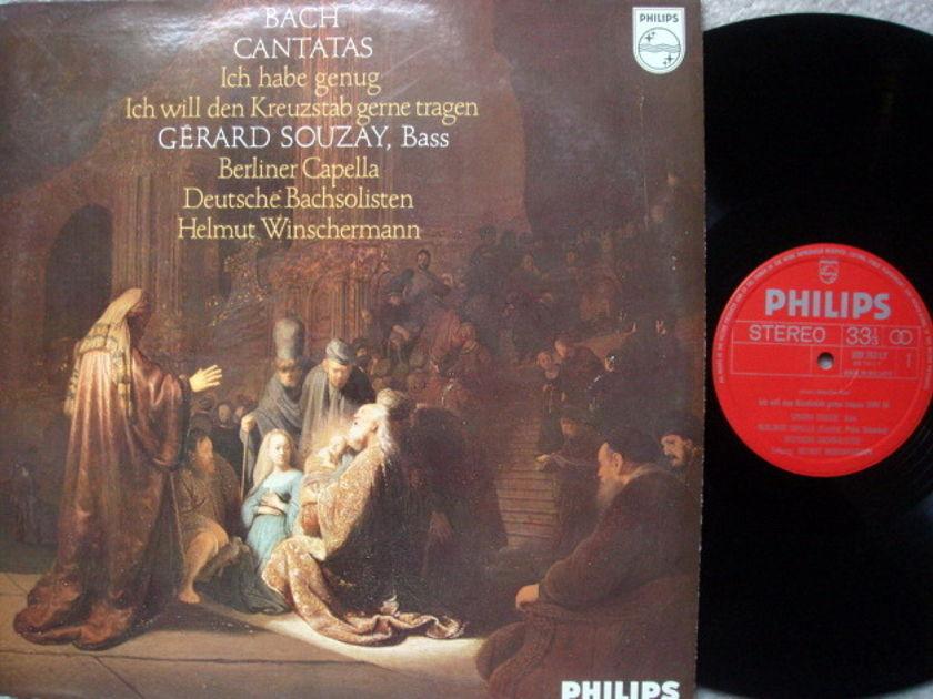 Philips / SOUZAY, - Bach Cantatas BWV.56& 82, NM, Early Press!
