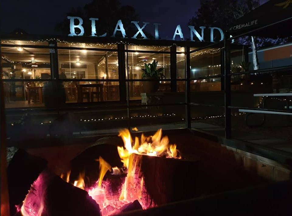 Night View of Blaxland Inn Hunter Valley Winery