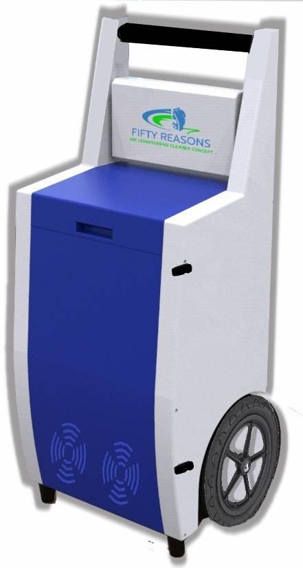 La machine Fifty R. 2020 vue de face
