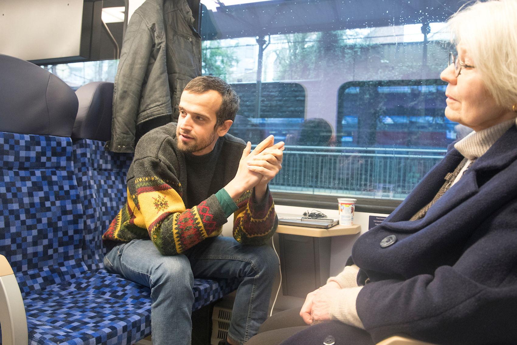 Eerste reizigers weten trein Maastricht-Aachen te vinden