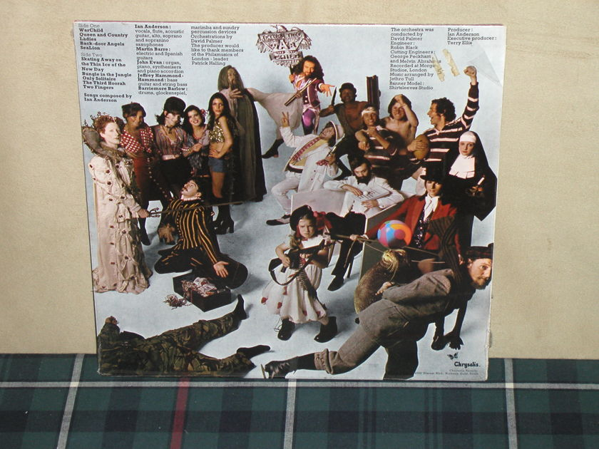 Jethro Tull - War Child Chrysalis CHR-1067 from 1974!