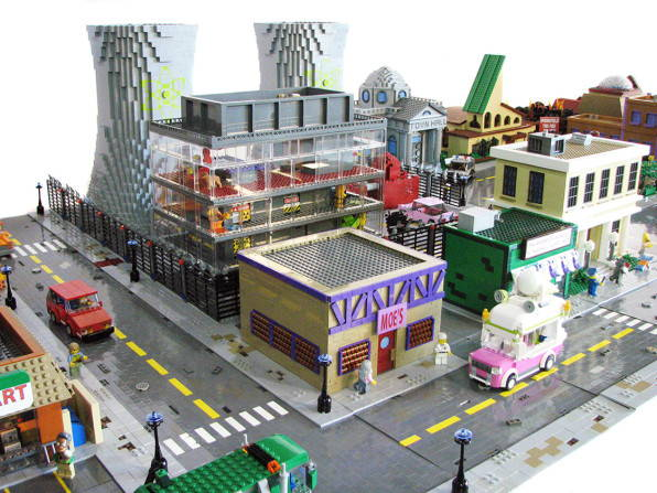 The Simpsons town of Springfield