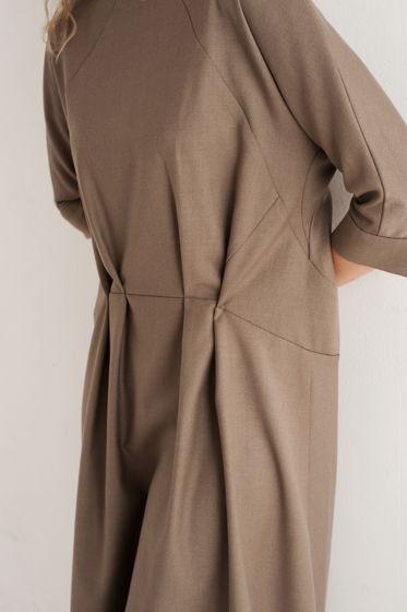 Платье Песочное из вискозы