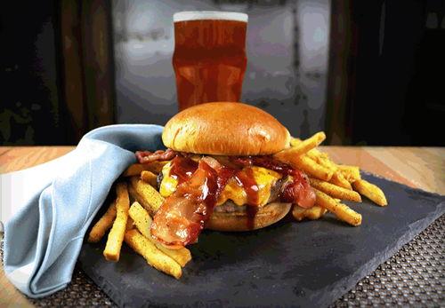 Backyard Bar-b-q Burger