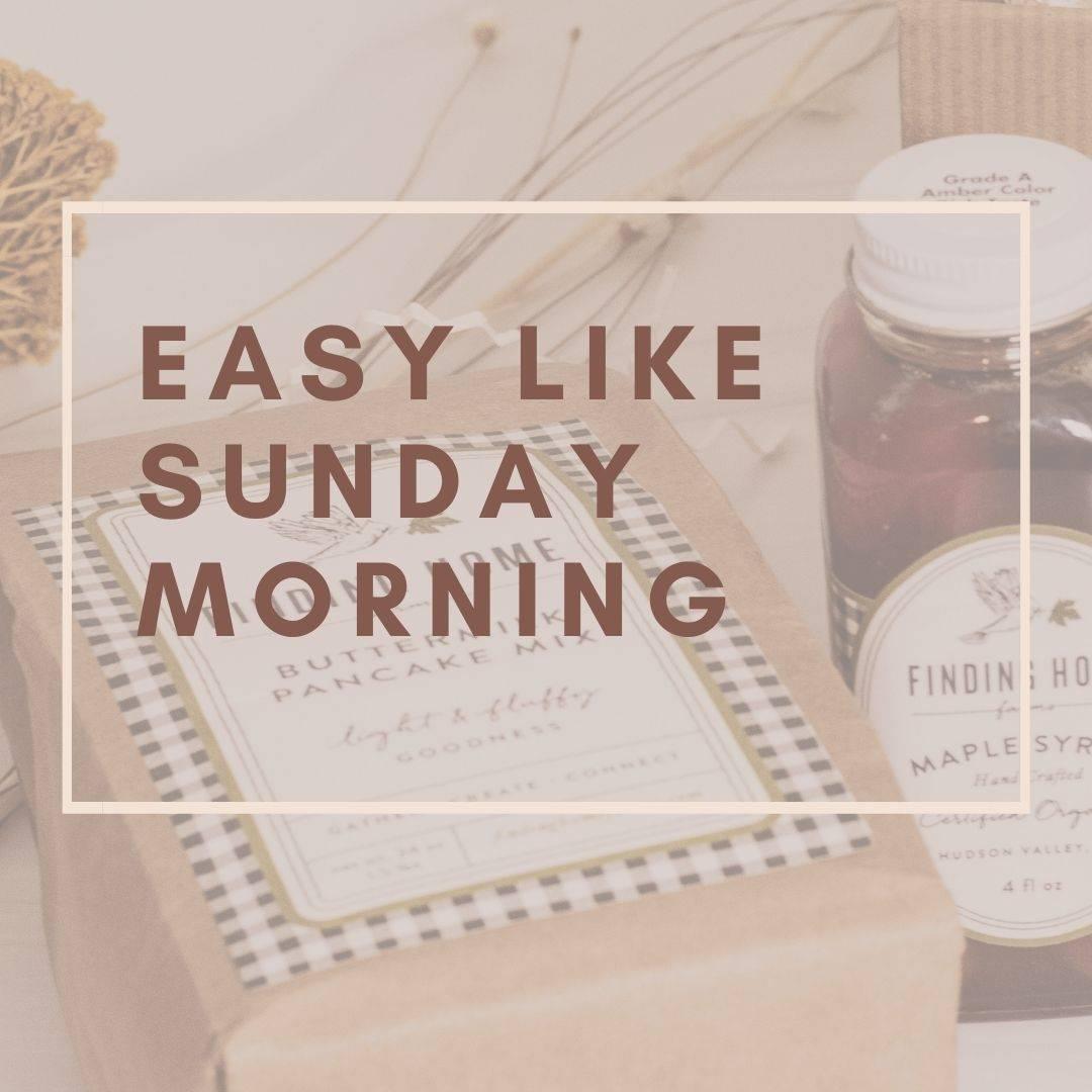 Easy Like Sunday Morning Breakfast Gift Box