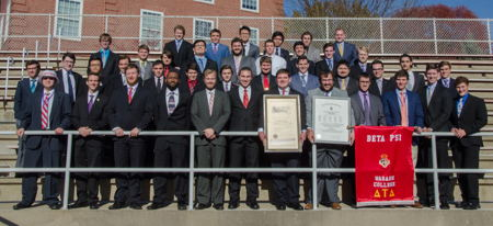 Beta Psi Chapter Installed at Wabash College