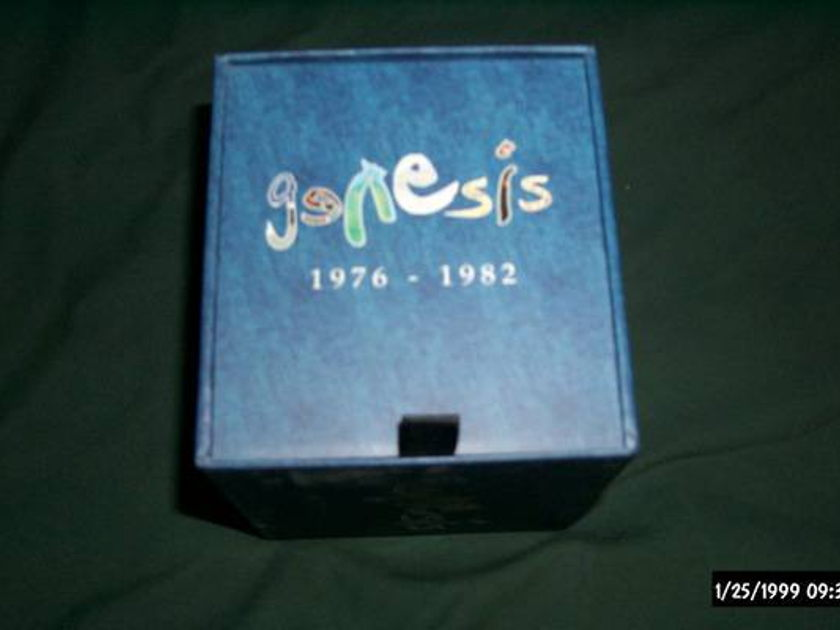 Genesis - 1976-1982 sacd hybrid box ntsc nm