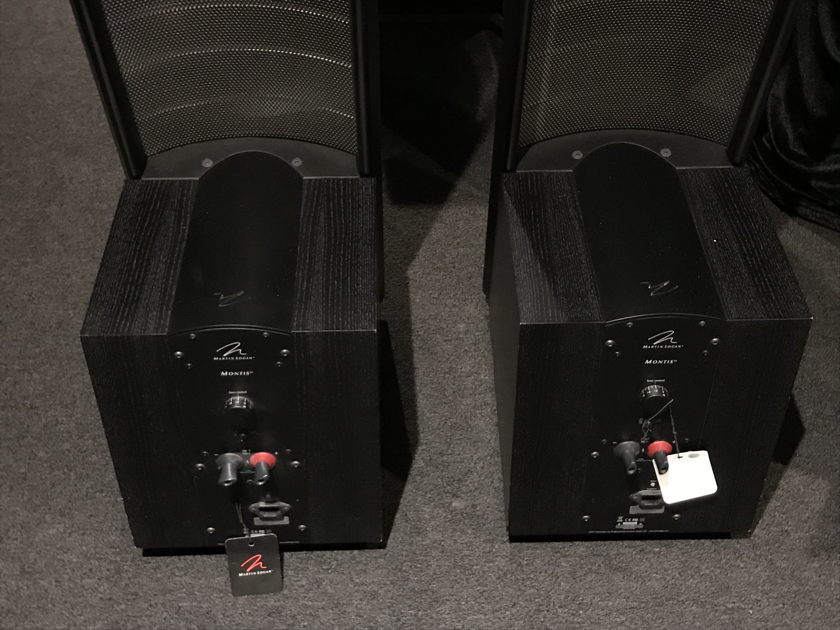 Martin Logan Montis Black ash lightly used great condition