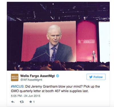 Wells Fargo and MFS were paying attention to the general sessions while simultaneously pursuing their goals to drive booth traffic. Well played.