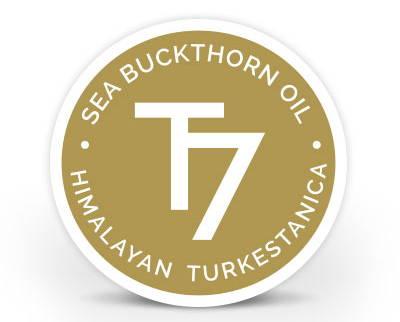 Sea Buckthorn Oil T7 Himalayan Turkestanica seal