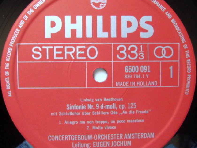 Philips / JOCHUM, - Beethoven Symphony No.9 Chorale,  NM-, 2LP Box Set!
