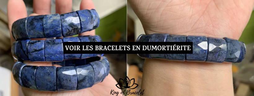 Bracelet Dumortiérite - King of Bracelet