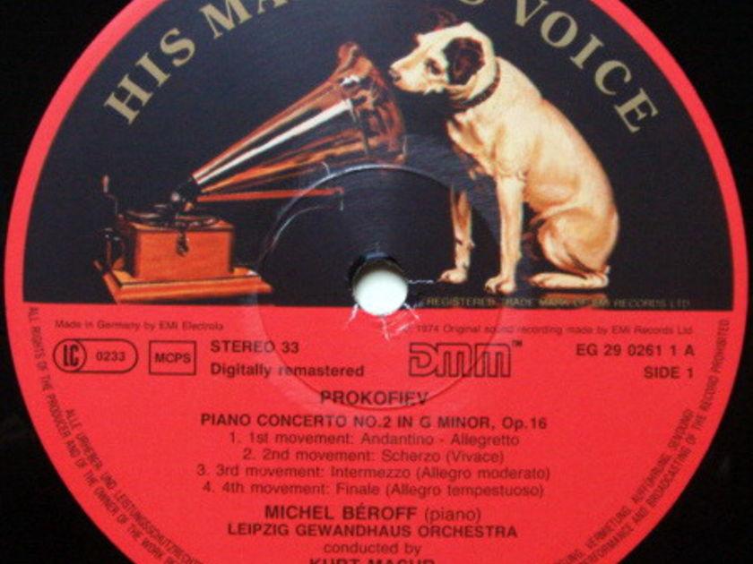 EMI ASD SEMI-CIRCLE / BEROFF-MASUR, - Prokofiev Piano Concertos No.2 & 3, NM!