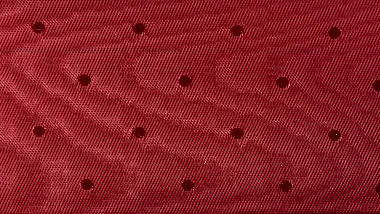 Rødt fór med prikker til indvendig i blazer   TailorMate