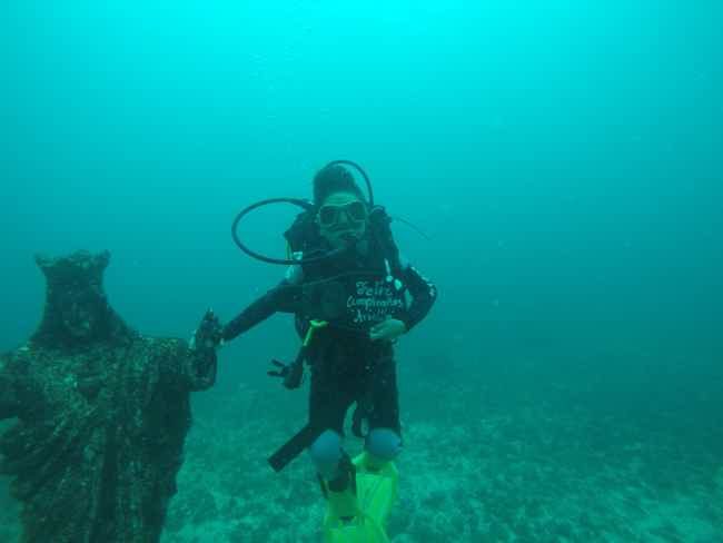 Discovery scuba diving w/ license-