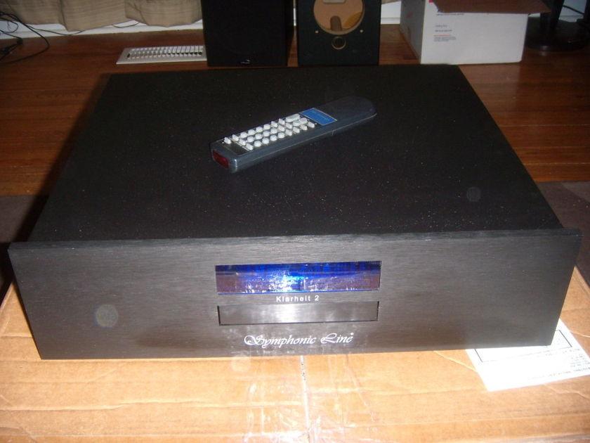 Symphonic Line  Klarheit II Odyssey Audio CD Player