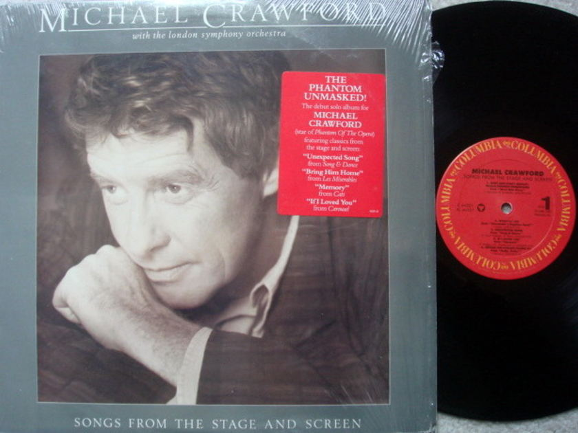 Columbia / MICHAEL CRAWFORD, - Songs from the Stage and Screen, NM!